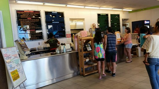 Pine Tree Cafe counter