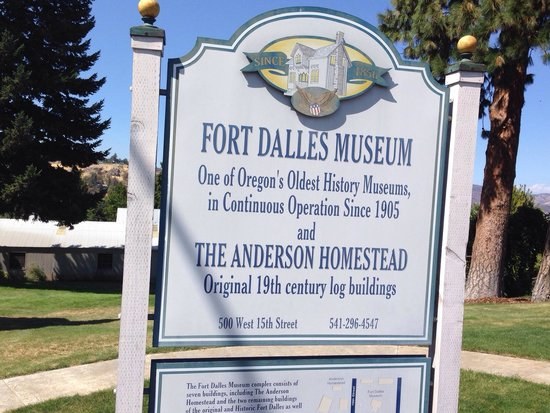Fort Dalles Museum and Anderson Homestead : Fort Dalles Museum. Photo by Terry Hunefeld