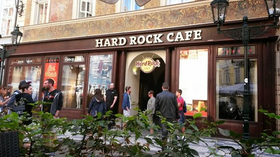 Hard Rock Cafe : View from our table