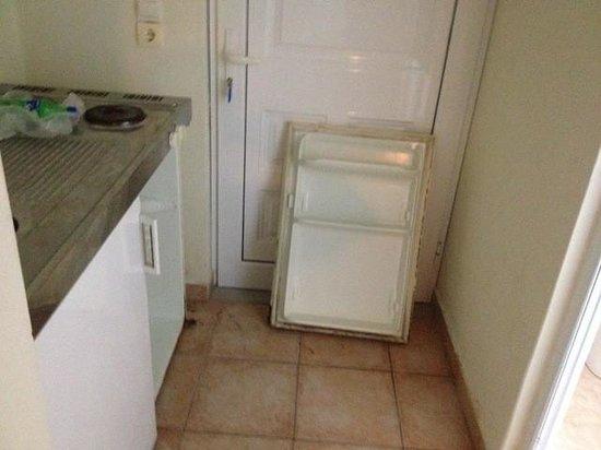 Hotel White Olive Premium: fridge door
