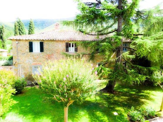 Villa di Piazzano: giardino 2