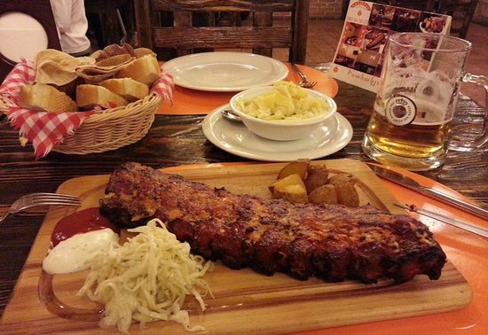 Vienna ribs: Meine Riesenportion Ripperl