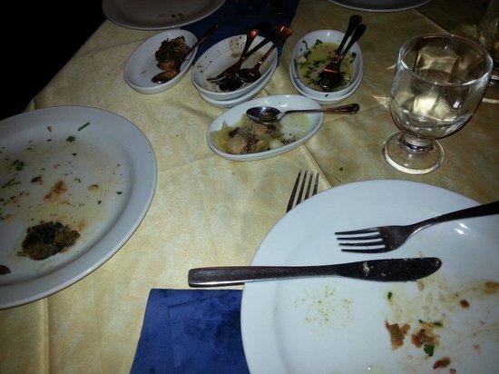 Trattoria Catania Ruffiana: Tutto fatto fuori con gusto