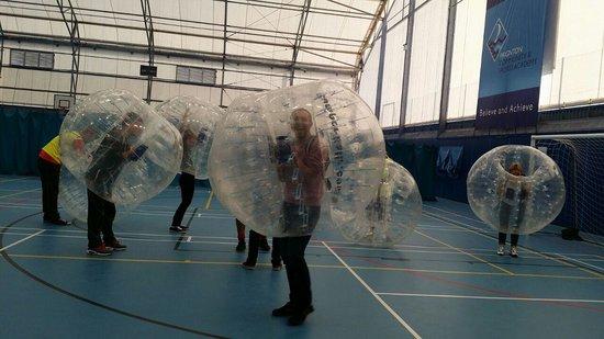 Bay Bubble Football: bubbles
