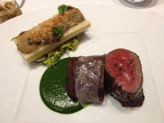 Le 114 Faubourg: Delicious Beef Steak