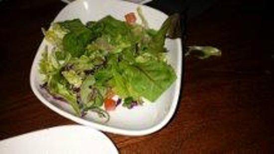 TGI Fridays: TGI sad side salad.
