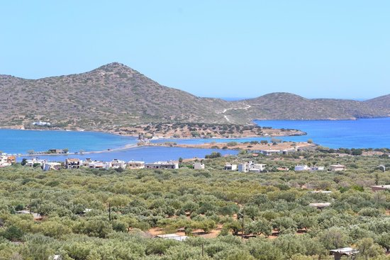 Elounda Water Park Residence : View from hotel