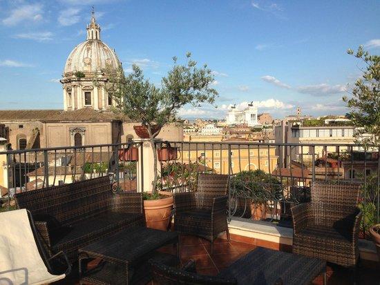 Boutique Hotel Campo de Fiori: Great Views!