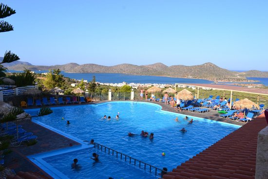 Elounda Water Park Residence : View from room 1