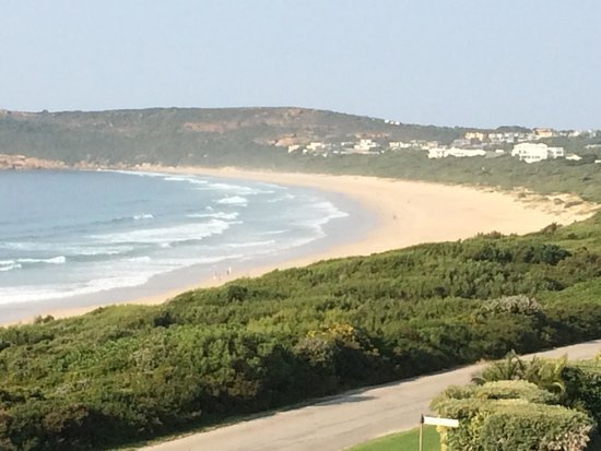 The Robberg Beach Lodge : Plettenberg Bay view from room