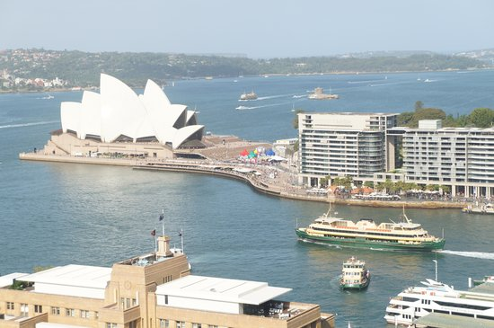 Shangri-La Hotel Sydney : View from room