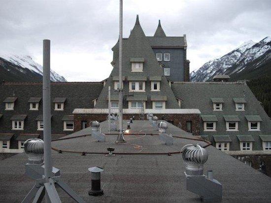 Fairmont Banff Springs: roof