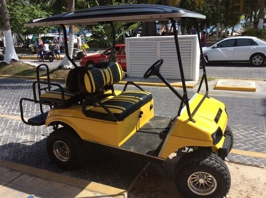 Isla Mujeres, Mexico: new cart models august 27th 2014