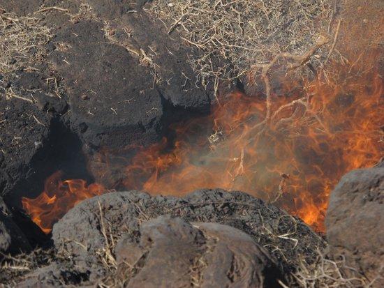 Parque Nacional de Timanfaya: Fuoco sotto i piedi
