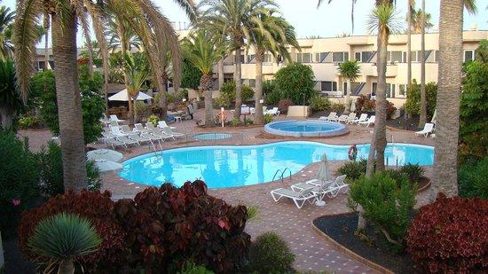 Hotel Atlantis Dunapark: View from room