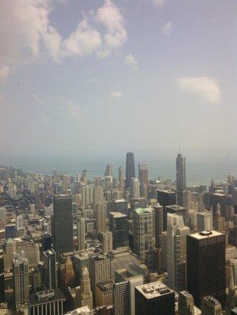 Skydeck Chicago - Willis Tower : vista