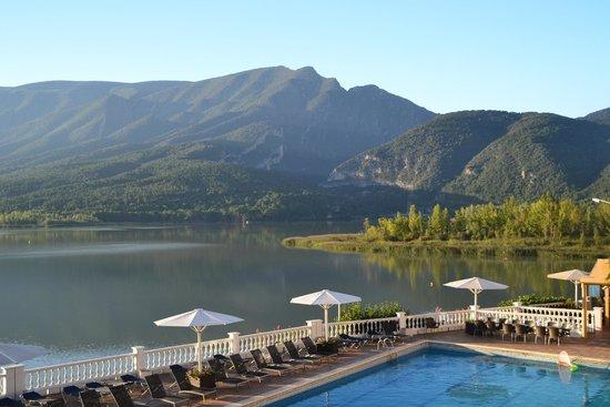 Hotel Terradets: Vista desde la habitación