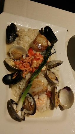 Eleven Forty Nine Restaurant: Seafood rissotto