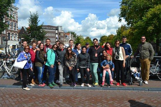 SANDEMANs NEW Europe - Amsterdam: Con Miguel de Guía !!!!