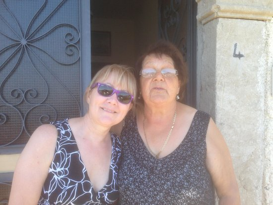 """TT Taxi Taormina : Tricia meeting Apollonia's """"Mother"""" from the Godfather"""