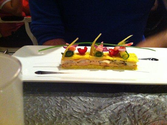 Macaron pain d pices avec foie gras mi cuit picture for Le saint sauvage toulouse