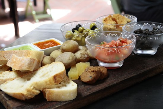 Delicious local tapas at La Cantina