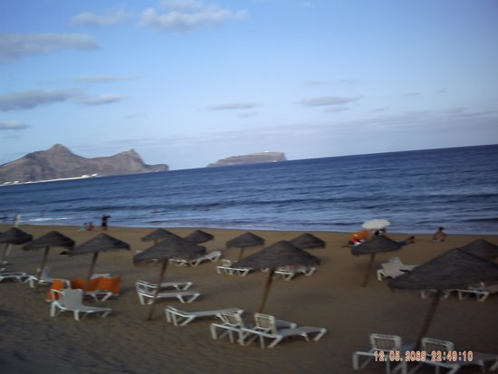 Pestana Porto Santo All Inclusive: beach in morning