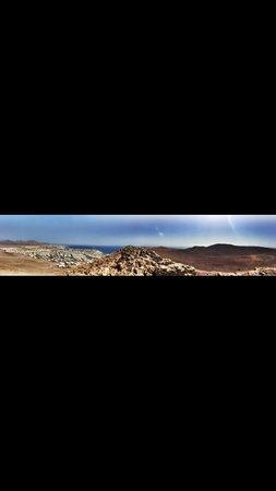 Montana Roja: Panorama desde allá arriba