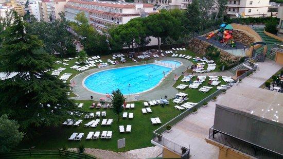 Hotel Samba: vista desde mi habitacion