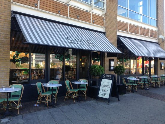 Cote Brasserie - Cardiff Bay: Outside