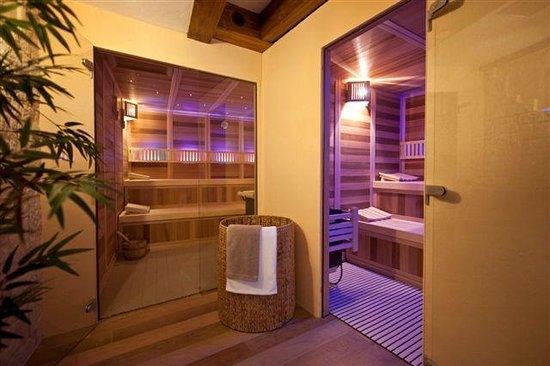 Hotel Belle Vue : Saunas