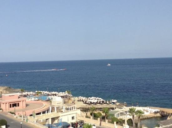 The Westin Dragonara Resort, Malta : view from Terrace Restaurant Side Room