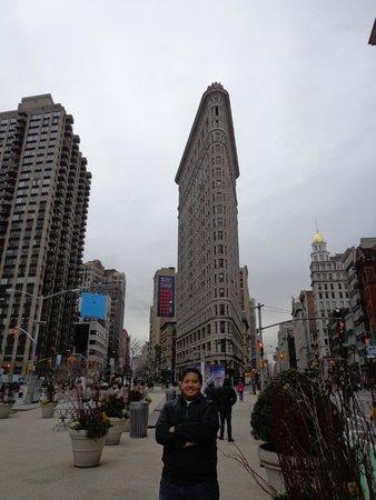 Flatiron Building: Eu e o Flatiron