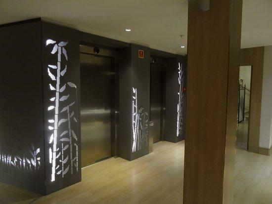 Catalonia Atocha: Los ascensores