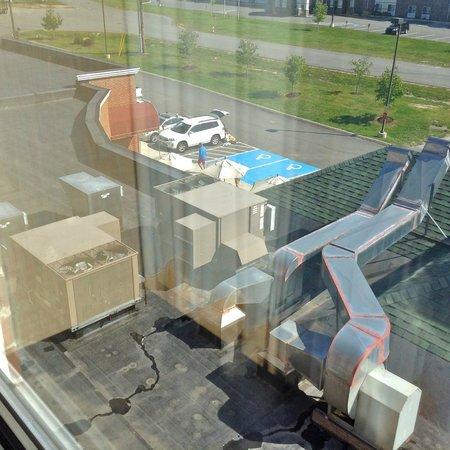 Hilton Garden Inn Bangor: View from fourth floor Room 421