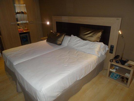 Catalonia Atocha: Las camas, muy comodas