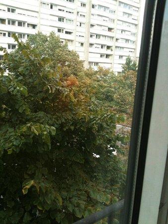 Best Western Paris Italie : vista dalla finestra