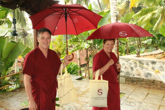 Somatheeram Ayurvedic Health Resort: off to massage