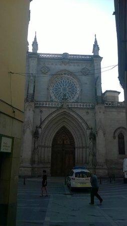 Pórtico Oeste de la Catedral de Santiago de Bilbao.