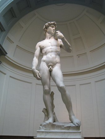 Accademia Gallery: David - front