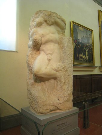 Accademia Gallery: Prisoner, calling Awakening Slave