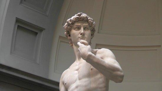 Galleria dell'Accademia : David - close up