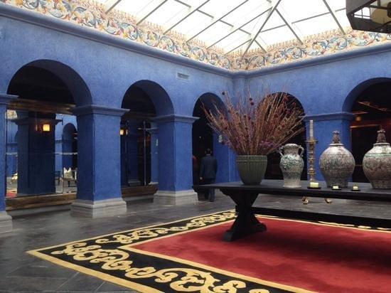 Palacio del Inka, a Luxury Collection Hotel: hotel lobby