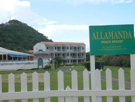 Allamanda Beach Resort : The hotel from the beach