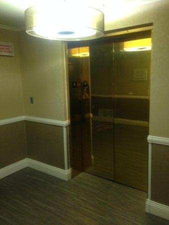 Hilton Wilmington Riverside: elevator
