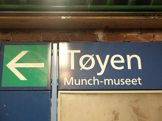 Munch Museum: MRT