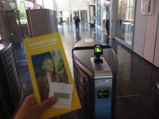 Munch Museum: secure