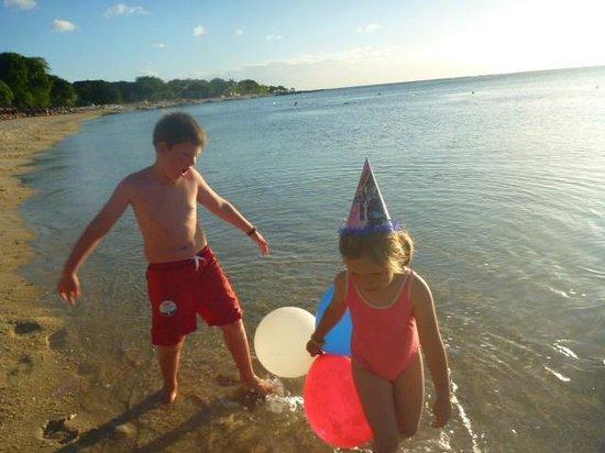 Maritim Resort & Spa Mauritius : beach party