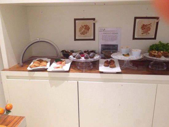 Hotel Card International : Buffet della colazione: angolo vegan