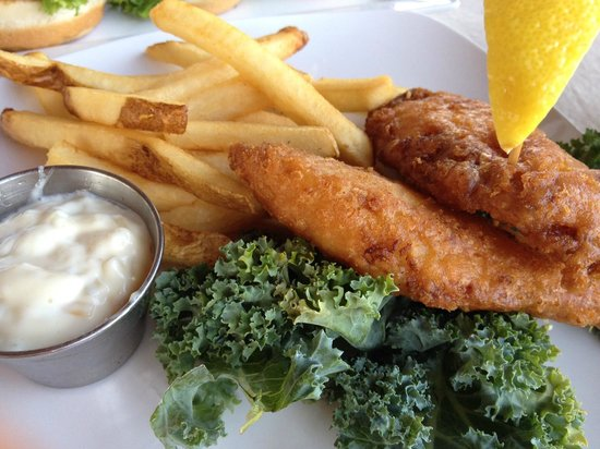 The Grill at Hunter Ranch: Fish and Chips